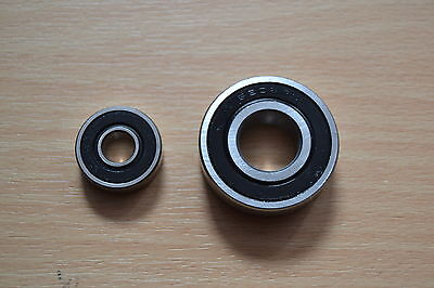 BEARING SET FOR LUCAS E3L E3LM E3N DYNAMO - BSA TRIUMPH MATCHLESS AJS NORTON