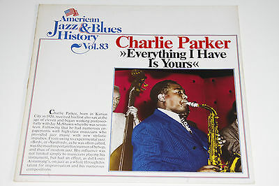 Charlie Parker:Everything I have is Yours, Vol.83 Vinyl LP B/2583 Germ