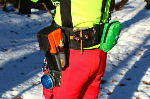 Loggers belt - Felling belt. Logging belt kit. Fully customizable.Waist = 32-48""