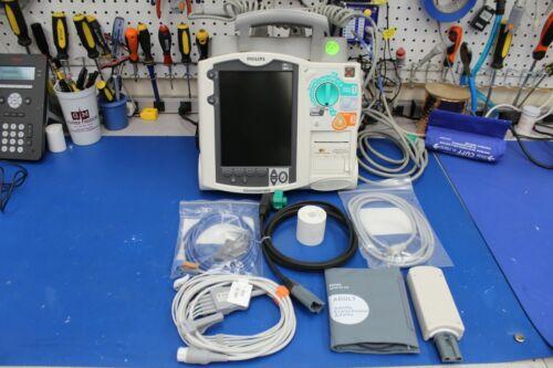 Philips HeartStart MRx ETC02,ECG, SPO2, NIBP, Biomed Re-Certified 3 mo.warranty