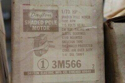 Dayton 3m566 Electric Motor 170hp 3000rpm 115v Cwse