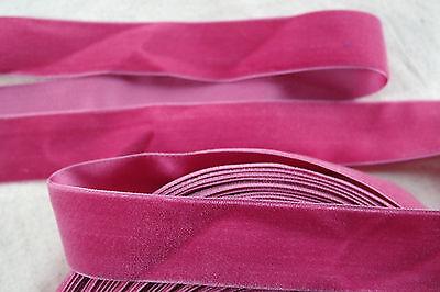 (1 yard vintage pink velvet 1 1/2