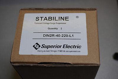 8pc Stabiline Din2r-40-220-l1 Transient Voltage Surge Suppressor