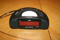 Acu-Rite Digital Alarm Clock (Model No. 13027, 4 Time Zones, Night Light)