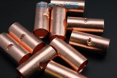 20 Gauge Copper Butt Connector 25 Pk Crimp Terminal Awg Battery Cur20