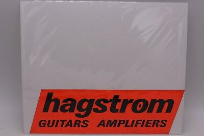 HAGSTROM GUITARS AND AMPLIFIERS CARD for sale  Shipping to Ireland