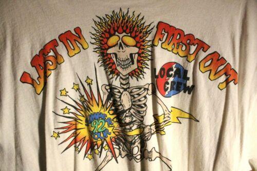 Grateful Dead - 1992 Summer Tour Local Crew T-Shirt