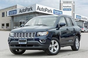 2017 Jeep Compass Sport/North SUNROOF|HEATED SEATS|LEATHER|BL...