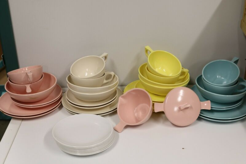 Melmac Dinnerware Assorted Colors