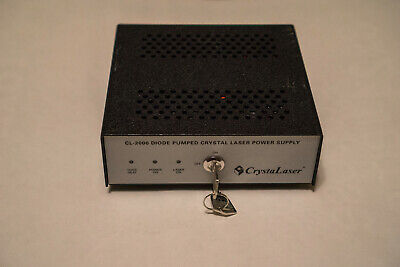 Crystalaser Diode Pumped Crystal Laser Power Supply Cl-2000 Ircl-100-1064l