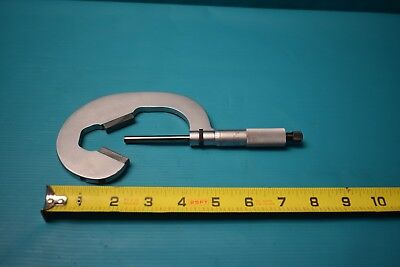 Used Starrett No. 483 Tipped 3 Flute Micrometer