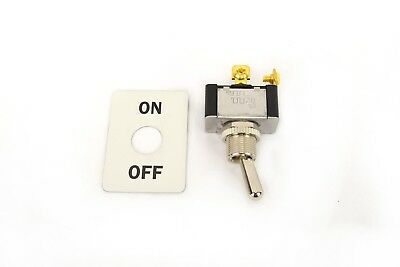 Lincoln Welder Sa-200 Sa-250 On-off Toggle Switch Switch Plate Bw749-k