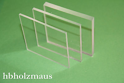 PLEXIGLAS® XT klar, Zuschnitt 900 x 500 x 4 mm - Acrylglas