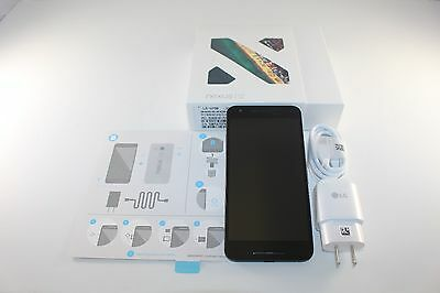 "New LG Nexus 5X H790 Black 4G LTE 32GB 5.2"" Android 12.3MP Camera GSM Unlocked"
