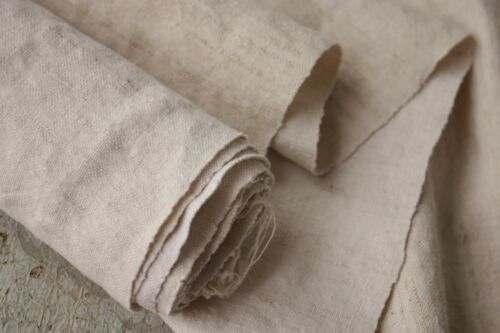 Metis Fabric WASHED LINEN Antique 3 YARDS organic vintage upholstery material