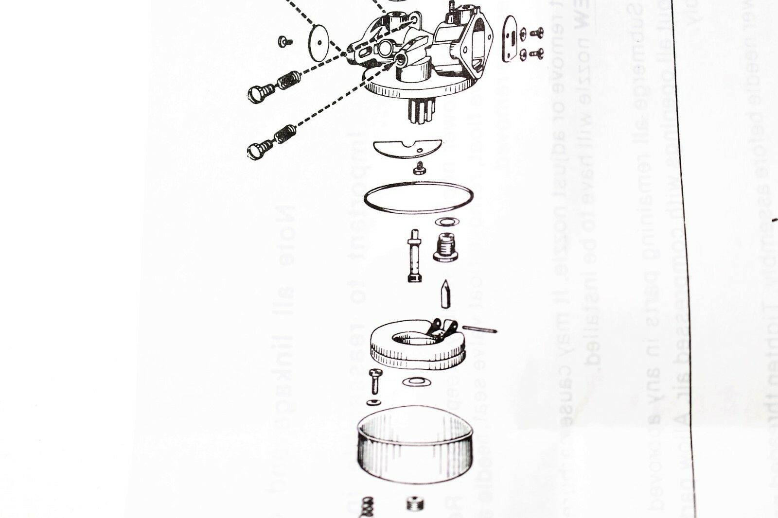 Genuine Walbro K1 Lmb K1lmb Carburetor Kit Plus Float Added Parts Diagram Of All Years Hrm195 Pa Honda Lawnmower And Gaskets Wa41