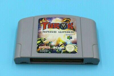 Nintendo N64 Juego - Turok Rage Guerras - Sólo Módulo