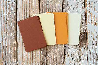 BIERS beer collection DIY business cards 50pc mix recycled cardstock rustic look ()