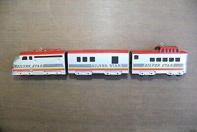 HALLMARK LIONEL TRAINS 1992 The Silver Star Train 3 Piece Set