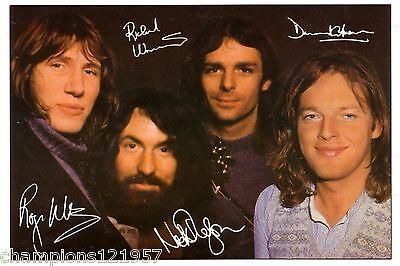 Pink Floyd ++Autogramme++ ++KULT Gruppe++