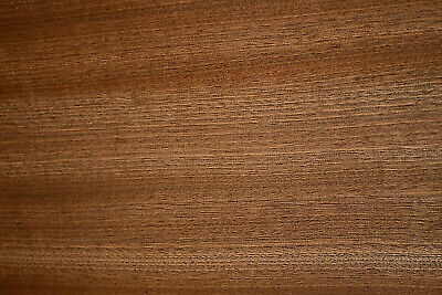 Sapele Ribbon Stripe Wood Veneer Sheets 6.75 X 45 Inches R4730-33