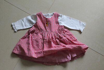 Mädchen Kleid und Body Winnie Pooh Gr. 62 (Mode Kleid Für Mädchen)