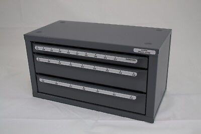 Huot Letter Sizes A-z Drill Bit Dispenser Organizer Cabinet13050