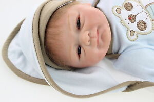 Real Touch Reborn Baby Doll Soft Silicone Vinyl Lifelike Doll