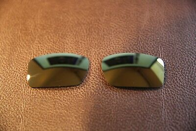 PolarLenz Polarized 24k Gold Replacement Lens for-Oakley Gascan Sunglasses