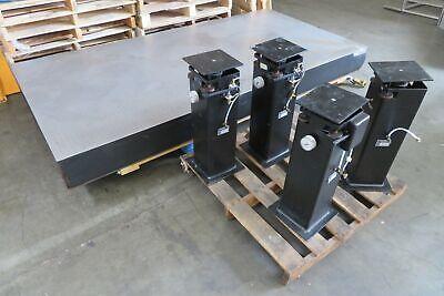 C174929 Nrc Newport Optical Table Breadboard 48x96x8 W4 Oriel Isolation Legs