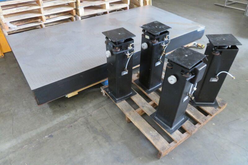 C174929 NRC Newport Optical Table Breadboard (48x96x8) w/4 Oriel Isolation Legs