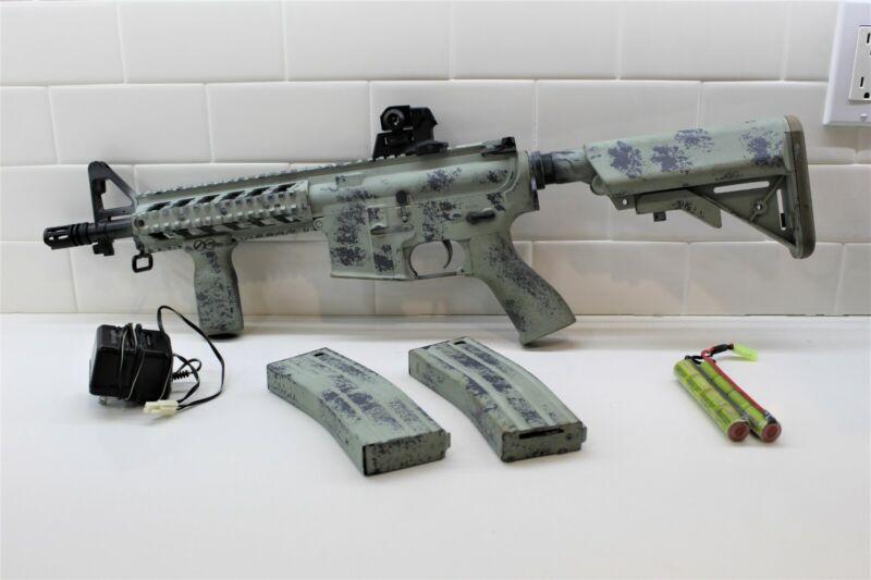 Painted G&G Armament CM16 Combat Machine Raider DST Standard Airsoft Rifle