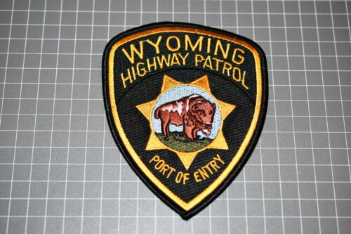 Wyoming Highway Patrol Port Of Entry Patch (S01-2)