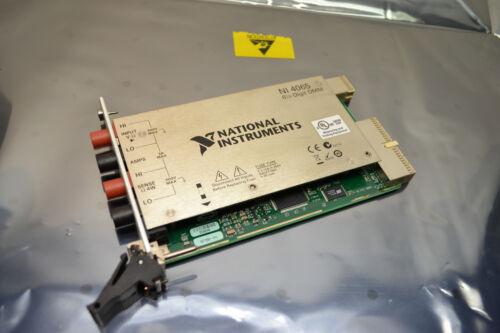 National Instruments PXI-4065 6 1/2 Digit DMM Digital Multimeter 300V