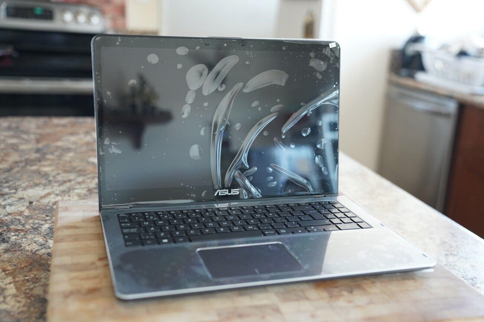 "Asus ZenBook Flip UX561UA 15.6"" Laptop (Intel i5 8250U, 512GB SSD, 8GB RAM)"