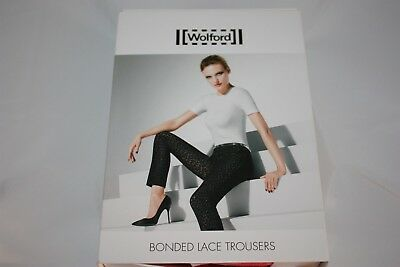 Wolford ~ BONDED LACE  ~ trousers pants BNWT pink  XS XSmall UK 8 ()
