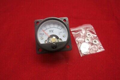 1pc Dc 0- 100mv Millivolt Analog Voltmeter Analogue Voltage Panel Meter So45