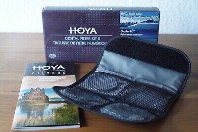 Hoya Digital Filter Kit (58mm) inkl Cirkular Polfilter/ND-Filter (NDx8), UV (Hoya Polfilter Filter)