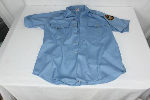 VTG Atlanta GA OBSOLETE Police APD Uniform Shirt Out Of Service Patch Buttons