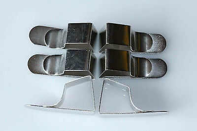 6 Drawing Board CLIPS British made Steel Same Day Despatch British Seller