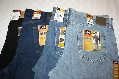Lee Jeans Big And Tall Jeans (Lee Men's Jeans Regular or Relaxed Some Big & Tall NWT Assorted Colors &)