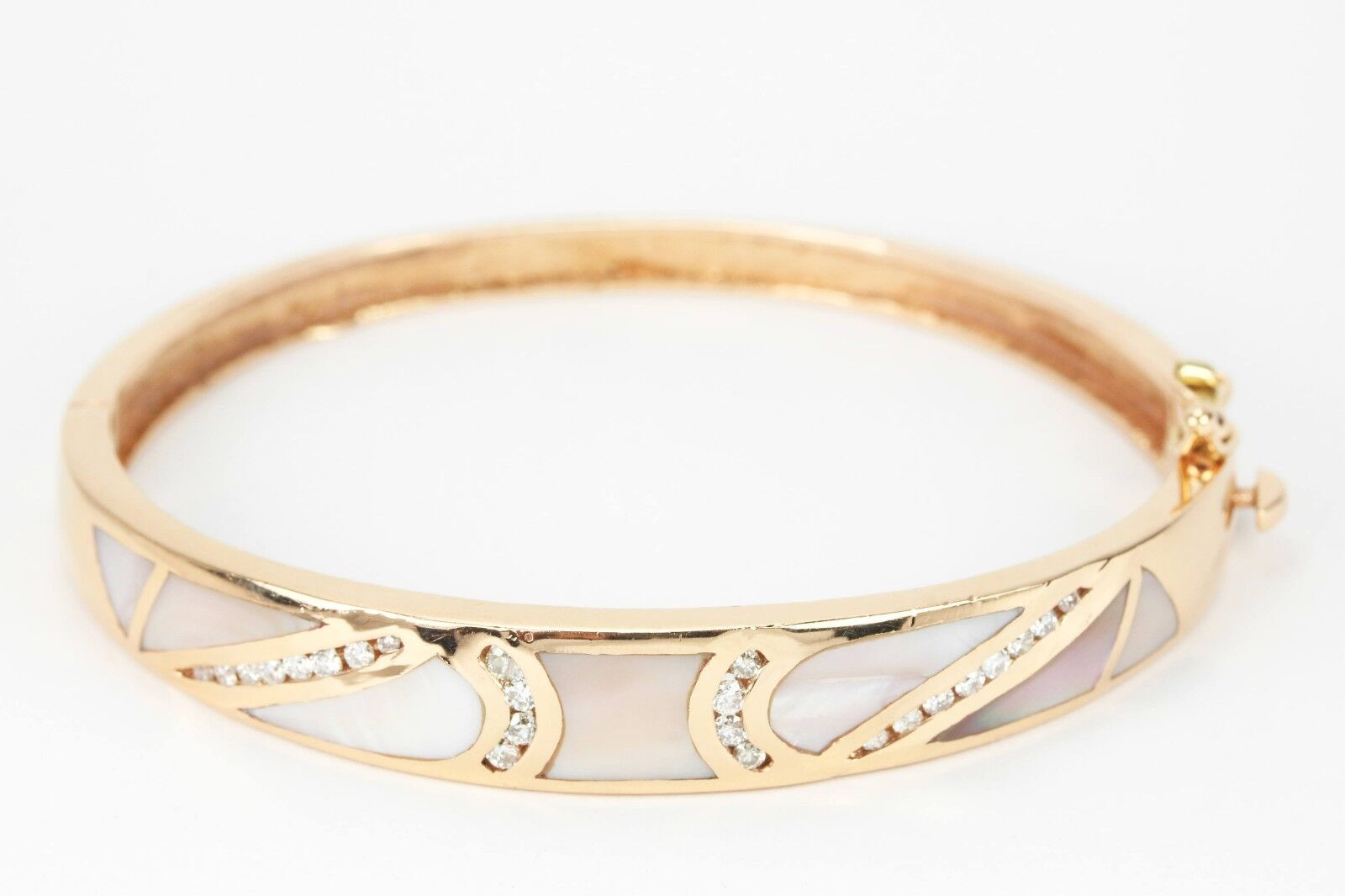bangle bangles rose bracelets gold white bracelet