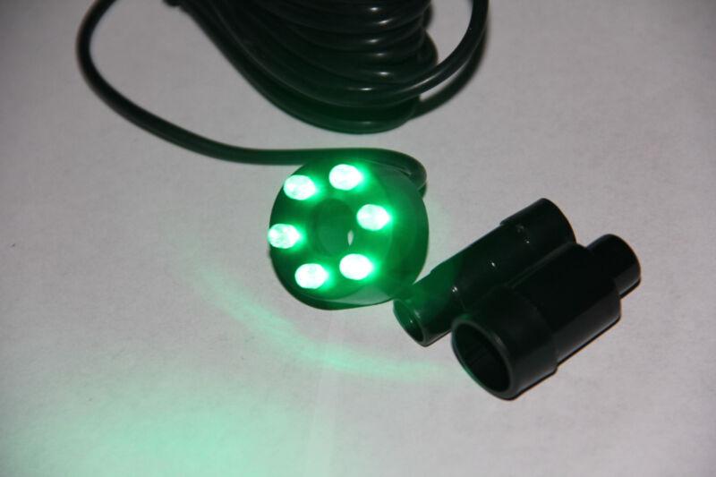 Underwater Green 6LED Light Ring for Garden Pond Fresh/Salwater Aquarium Marine