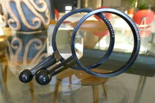 Hasselblad Quick Focus handles 1 & 2 for 80-120mm,150mm 250mm C lenses clean