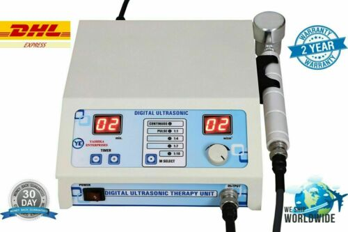 New Prof US Ultrasound Therapy 1-MHz Physical Pain Relief therapy Great Machine
