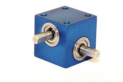 Mini Right Angle Helical Gear Box Model Ra-302-p1 11 Panel
