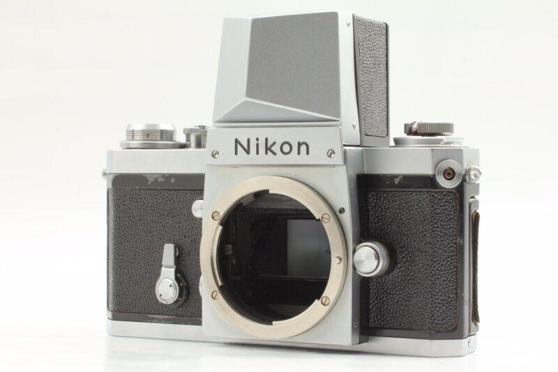 EXC+++++ Nikon F #64 ACTION FINDER CROME SLR FILM CAMERA FROM JAPAN
