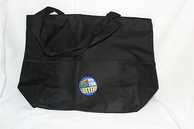 New York State Lottery Tote Bag Black  New