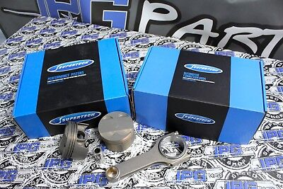 Supertech Pistons & Rods 2015-2018 Ford EcoBoost 2.3L Engines 87.5mm Bore 9.5:1