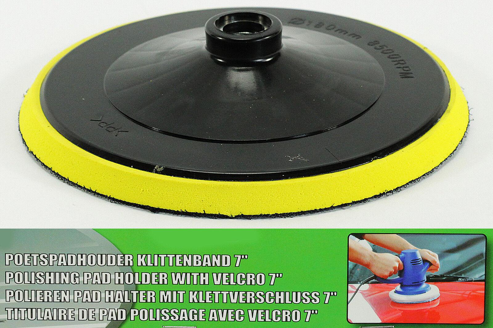 NEU Polierpad  Schleifteller mit Klettverschluss Polierscheibe  ca. 180 mm